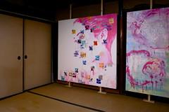 pink tatami (troutfactory) Tags: paintings art artfestival 篠山市 sasayama 関西 kansai 日本 japan ricohgrd2 digital