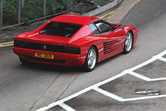 Ferrari, 512TR, Wan Chai, Hong Kong (Daryl Chapman Photography) Tags: bc369 ferrari 512tr italian wanchai testarossa 1d mkiv car cars auto autos automobile canon eos is ii 70200l f28 road engine power nice wheels rims hongkong china sar drive drivers driving fast grip photoshop cs6 windows darylchapman automotive photography hk hkg bhp horsepower brakes gas fuel petrol topgear headlights worldcars daryl chapman darylchapmanphotography