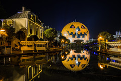 Europa Park Night-photo-tour EP6 (Red-Shadow) Tags: europapark halloween nacht nachtfotogerafie pumpkin reflection