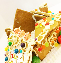 Good News No Lives Lost in House Collapse (garlandcannon) Tags: gingerbreadhouse collapsedgingerbreadhouse odc christmas
