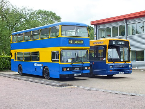 Bromley Bus Preservation Group - Metrobus 806 G806TMX - 101 K101KMV