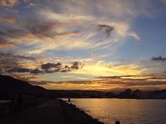 Nubes al atardecer sobre el puerto de Denia (nora4santamaria) Tags: nwn concordians