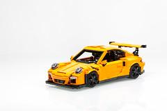 LEGO Porsche 911 GT3 RS (991 2016) (Malte Dorowski) Tags: 42056 lego porsche 2016 gt3 rs 991 911 carrera small legoideasprojectporsche911gt3 modelteam 117 118 116 racing speed racers expert foitsop car vehicle