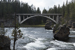 "Yellowstone River with old bridge • <a style=""font-size:0.8em;"" href=""http://www.flickr.com/photos/63501323@N07/30783803986/"" target=""_blank"">View on Flickr</a>"