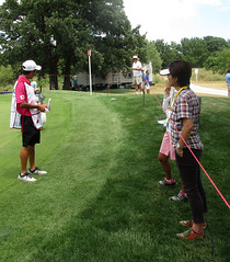 Japanese Golf Fans (*hajee) Tags: lpga gurnee libertyville meritclub