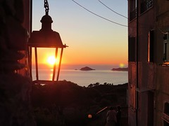 Sunset - Montemarcello (FedeFli) Tags: sunset montemarcello sp italy italia sky ligury sun island lights sea