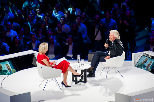 Eva Jinek & Richard Branson @ Inspiration 360