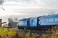 Visit Plymouth..... (stavioni) Tags: hst fgw gwr first great western railway rail diesel class43 high speed train inter city intercity 125 british visit plymouth wrap 43163 dmu 165123
