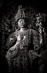 Gatekeeper (Padmanabhan Rangarajan) Tags: belur halebidu statues chennakesava hoysala india sculpture