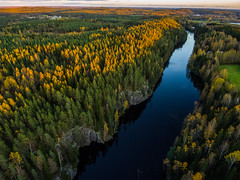 Lake Alainen-Toriseva (ArtDvU) Tags: sunset autumn fall virrat finland lake alainentoriseva drone dji landscape lakescape