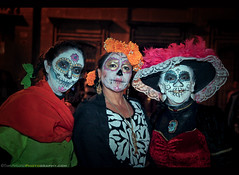 Day of the Dead 2016 - San Miguel de Allende, Mexico (Sam Antonio Photography) Tags: dayofthedead sanmigueldeallende samantoniophotography mexico catrina eldiademuertos mexican death holiday halloween muertos celebration spooky skeleton skull decoration carnival face dark costume portrait scary woman white mask female horror makeup catholicism culturaltradition calavera religious spirituality traditional