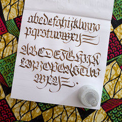 Back to basics (AGAIN). (Syntax One) Tags: calligraphy fraktur blackletter walnut alphabet