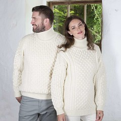 Love in wool sweater (Mytwist) Tags: irish aran turtleneck sweater wknit153p3 wife husband love passion knitwear married wool fashion fetish fisherman fuzzy vintage vouge pullover pulli style sexy sweaters retro warm winter viking dicipline design dress together weddingphoto