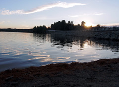 2 (Sally G Drew) Tags: calabogieontario sunset waterreflections