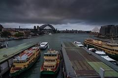 Circular Quay Sydney Timelapse (grooovy) Tags: sydney australia nsw timelapse ferry sunset clouds tripod tokina1224mmf4 circularquay