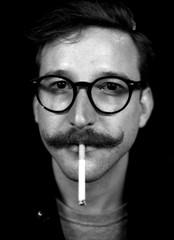Kay (Alexander  Bulmahn) Tags: kay portrait black white monochrome ilford delta 400 canon al 1 fd 50mm f18 xelriade