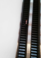 esky (joshhikes) Tags: escalator ascensor man descend photobyjh joshhimages goingdown
