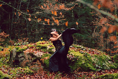 Autumn Masquerade (stefaniebst) Tags: selfportrait autoportrait portrait automne autumn fall forest foret forêt woods woodland underwood nature naturescene naturelover imagination imaginaire imaginary dream escape dance danse mascarade masquerade masque mask art fineart fineartphotography conceptphoto conceptualphotography story storytime storyteller tree arbre miseenscène secret woman femme girl surreal