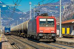 484 013 (atropo8) Tags: 484013 sbb cargo captrain train treno zug merci freight tank cisterne domegliara brennerbahn verona veneto italy nikon d610