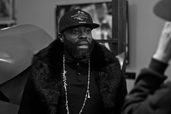 Ladies & Gentlemen, Philadelphia's Own, The Legendary, Black Thought (Brotha Kristufar) Tags: podcast podcasting feature explore explored flickrisracist music hiphop culture rap beard blackthought jimmyfallon late night television band art theroots interview press discussion talk fun liqour dusse rocnation nyc brooklyn crime tax taxstone weekly portrait portraiture indoor indoors studio monochrome blackandwhite monochromatic comedy real media canon history black philly