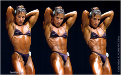 Carla Salotti USAs2002 (thermosome) Tags: fbb female bodybuilding posing muscle