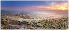 Touch Of Frost (Mark Crawshaw) Tags: greatridge winter frost canon1dx sunrise peakdistrict mamtor