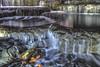 The Waterfalls (satochappy) Tags: waterfalls water sydney australia leaf leaves rocks autumnleaves bathurststreetsydney building holidayapartment lumièreresidences