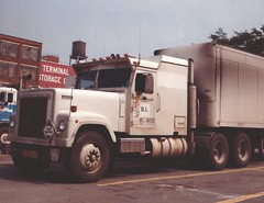 Armored IH 4300 (PAcarhauler) Tags: ih international semi truck tractor trailer