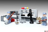Hazardous cleaning (Devid VII) Tags: cleaning hazard military base desk lego moc devidvii devid rpg weapon details