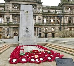 Cenotaph George Square Glasgow Scotland December 2016 (Dano-Photography) Tags: iphone7plus iphone remembrancesunday remembranceday ww1 ww2 dano citycentre army scottish british britisharmy soldier war memorial georgesquare glasgow cenotaph