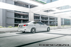 Lexus IS250 on CW-S8 MGMF (Concavo Wheels) Tags: florida miami wheels rims concave lexus is250 concavo deepconcave concavowheels teamconcavo concavenation cws8