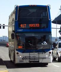Community Transit 2010 Alexander Dennis Enviro 500 10807 (zargoman) Tags: seattle travel bus community transportation transit commuter 500 doubledecker enviro snohomish e500 communitytransit alexanderdennis doubletall