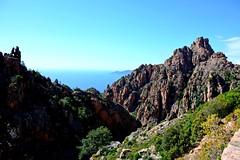 Calanques de Piana (Diegojack) Tags: mer vacances corse paysages rochers calanques piana 2014