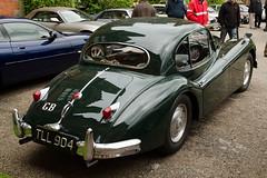 Jaguar XK140 Fixed Head Coupe (1956) (SG2012) Tags: auto classiccar automobile oldtimer jaguar oldcar autodepoca motorcar carphoto carpicture cocheclasico voitureclassique carphotograph carimage tll904 capesthornehallclassiccarshow 25052014