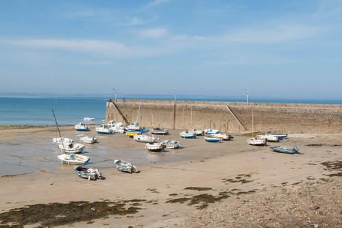 Port de Piégu à marée basse