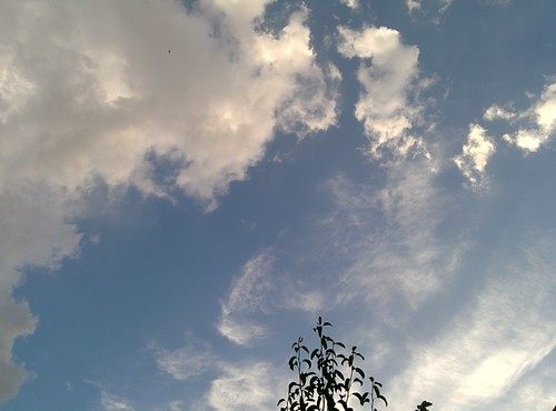 Cloudy Sky in Damascus Countryside, May 2014
