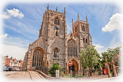 King's Lynn Minster (P Sterling Images) Tags: house church water photoshop river town lock sony great norfolk medieval quay lynn kings tamron minster ouse hdr customs a77 1750mm