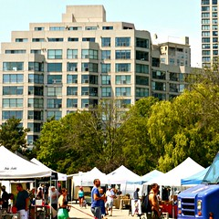 Farmers' Market in Toronto ( 1 of 5) (Trinimusic2008 -blessings) Tags: trees sky urban toronto ontario canada green dogs grass thanks buildings children outdoors tents pond farmersmarket candid hats streetphotography july saturday sunny fresh bicycles etobicoke to gratitude enjoying peoplewatching 2014 humberbaypark trinimusic2008 judymeikle
