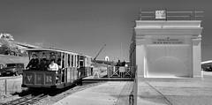 Black Rock (R~P~M) Tags: uk greatbritain england station electric train brighton unitedkingdom railway volks eastsussex narrowgauge blackrock