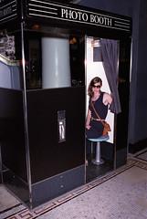Photobooth (joseph webb) Tags: nyc film analog 35mm nikon nikkor acehotel filmphotography 35mmf2 f3hp nikon9000ed
