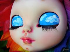 FA: Colour, the rainbow-sunflower Blythe