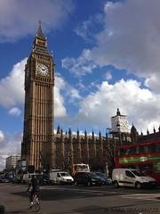 Big Ben (SaraGravanati) Tags: city travel london big europa europe ben ciclista londra viaggio citt bicicletta