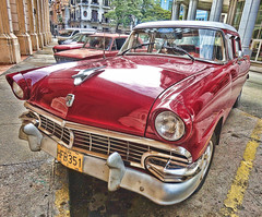 Coche Cubano / Cuban Car.- (ancama_99(toni)) Tags: cuba cuban cubano coche auto car rojo red sonydscw380 sony dscw380 lahabana hdr 10faves 10favs 25favs 25faves 1000views 2014 vacation vacaciones kuba 5000views