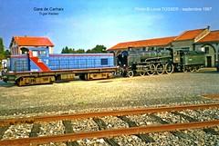 1. Dpt de la gare de Carhaix (LOUIS TOSSER) Tags: train de gare bretagne chemin fer breton sncf rseau finistre carhaix