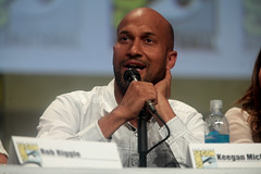 Keegan-Michael Key (Gage Skidmore) Tags: california michael san key comic cops lets diego center rob convention be keegan nina damon con 2014 wayans riggle dobrev