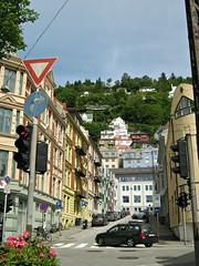 City of Bergen, Norway / Richard Nordraaks gate (Multerland.........) Tags: norway railwaystation bergen hordaland 2014 may25 bergensbanen bergenline cityofbergen nsbnorwegianrailroads