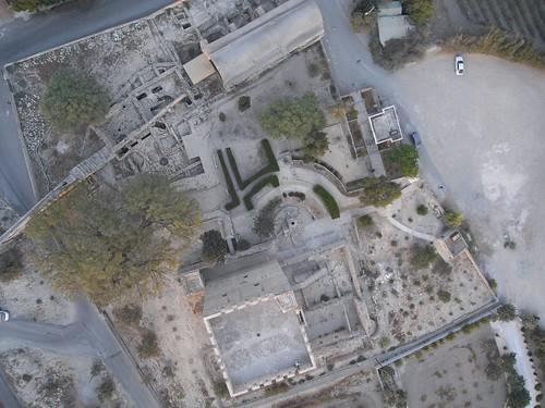 Kolossi castle. Cyprus. Kite aerial photography
