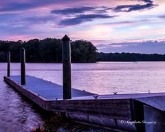Neon (augphoto) Tags: sunset lake water night clouds us dock unitedstates southcarolina waterloo nighttime augphotoimagery
