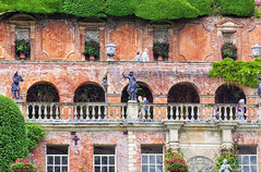 Powis Castle terraces (Gill Stafford) Tags: color colour castle wales garden image terraces powis photograph nationaltrust powys welshpool gillstafford