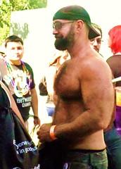 LAPride2 2014 014 (danimaniacs) Tags: shirtless man hot sexy guy beard hunk stud hunky lapride22014